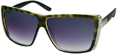 Angle of SW Rock Star Style #123 in Green Tortoise and Black, Women's and Men's