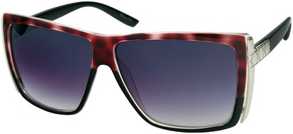 Angle of SW Rock Star Style #123 in Pink Tortoise and Black, Women's and Men's
