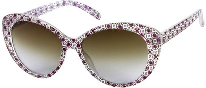 Angle of SW Cat Eye Style #158 in Purple, Women's and Men's