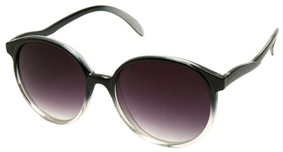 Angle of SW Fashionista Style #31103 in Black Fade Frame, Women's and Men's