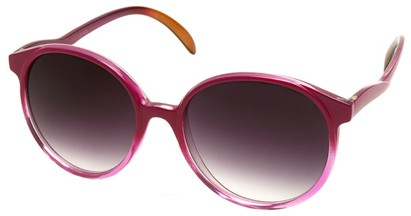 Angle of SW Fashionista Style #31103 in Hot Pink Frame, Women's and Men's