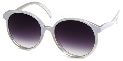Angle of SW Fashionista Style #31103 in White Fade Frame, Women's and Men's