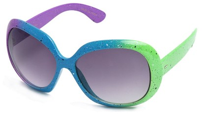 Angle of SW Neon Style #31136 in Purple, Blue & Green, Women's and Men's