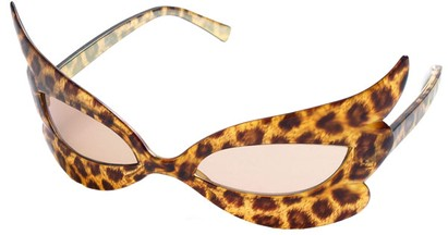 Leopard Print Party Sunglasses