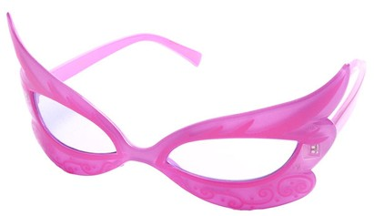 Pink Masquerade Party Sunglasses