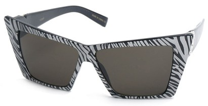 Angle of SW Celebrity Style #31202 in Zebra Print Frame, Women's and Men's