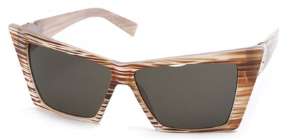 Angle of SW Celebrity Style #31202 in Brown Stripe Frame, Women's and Men's