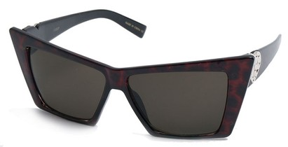 Angle of SW Celebrity Style #31202 in Red Tortoise Frame, Women's and Men's