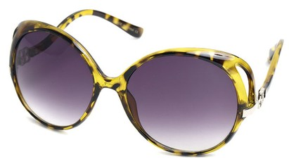 Angle of SW Fashion Style #1552 in Yellow Tortoise, Women's and Men's