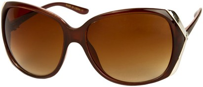 Angle of SW Fashion Style #61420 in Brown Frame, Women's and Men's