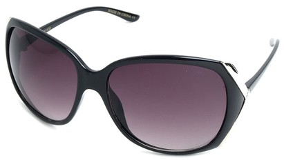 Angle of SW Fashion Style #61420 in Black Frame, Women's and Men's
