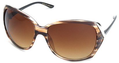 Angle of SW Fashion Style #61420 in Striped Frame, Women's and Men's