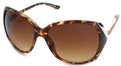 Angle of SW Fashion Style #61420 in Tortoise Frame, Women's and Men's
