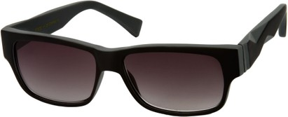 Angle of SW Sun Reader Style #31602 in Black/Grey, Women's and Men's