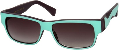 Angle of SW Sun Reader Style #31602 in Light Blue/Purple, Women's and Men's