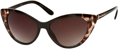 Animal Print Cat Eye Sunglasses