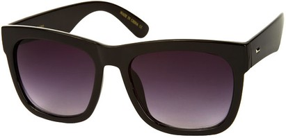 Angle of SW Rock Star Style #2066 in Solid Black Frame, Women's and Men's