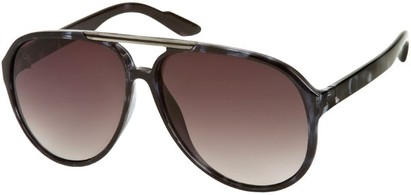 Angle of SW Oversized Aviator #918 in Blue Tortoise Frame, Women's and Men's