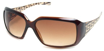 Angle of SW Fashion Style #3075 in Brown Frame, Women's and Men's