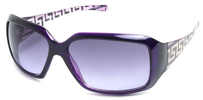 Angle of SW Fashion Style #3075 in Purple Frame, Women's and Men's