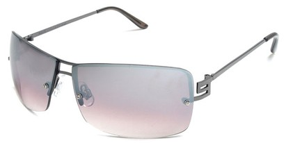 Angle of Cypress #8334 in Grey Frame with Rose Lenses, Women's and Men's Square Sunglasses