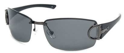 Angle of SW Polarized Style #207 in Grey, Women's and Men's