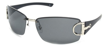 Angle of SW Polarized Style #207 in Silver , Women's and Men's