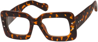Angle of SW Nerd Style #7680 in Matte Tortoise Frame, Women's and Men's
