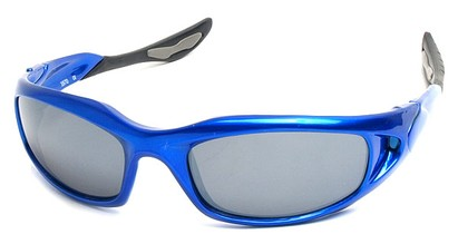 Angle of SW Sport Style #1307 in Blue Frame, Women's and Men's