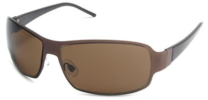 Angle of Himalaya #9718 in Bronze Brown Frame with Amber Lenses, Women's and Men's Square Sunglasses
