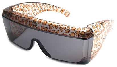 Animal Print Fit Over Sunglasses