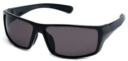Angle of SW Sport Style #9957 in Black Frame, Women's and Men's