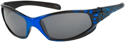 Angle of SW Kid's Sport Style #6475 in Blue/Black Frame, Women's and Men's