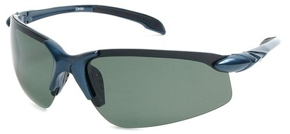 Angle of SW Polarized Sport Style #1194 in Blue Frame with Green Lenses, Women's and Men's