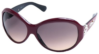 Angle of SW Flower Style #9944 in Pink Frame, Women's and Men's