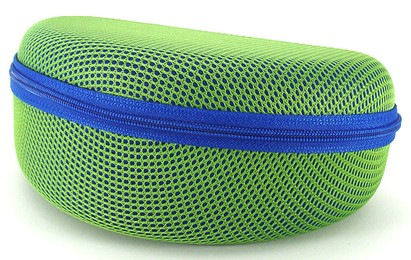 Angle of Mesh Dome Lime and Blue Case #647 in Lime and Blue Case, Women's and Men's
