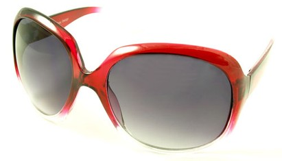 Angle of SW Celebrity Style #511 in Red Fade Frame, Women's and Men's