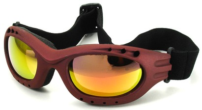 Angle of Bergen #9886 in Red Frame, Women's and Men's Sport & Wrap-Around Sunglasses
