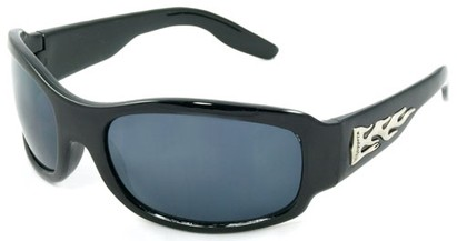 Angle of SW Kids Style #921 in Black Frame, Women's and Men's