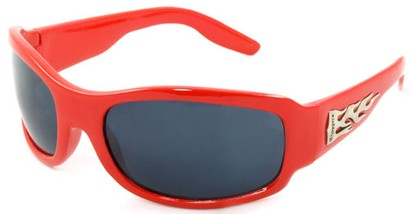 Angle of SW Kids Style #921 in Red Frame, Women's and Men's