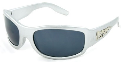 Angle of SW Kids Style #921 in Silver Frame, Women's and Men's