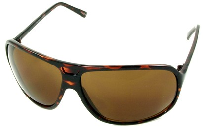Angle of SW Oversized Aviator Style #4723 in Tortoise Frame, Women's and Men's