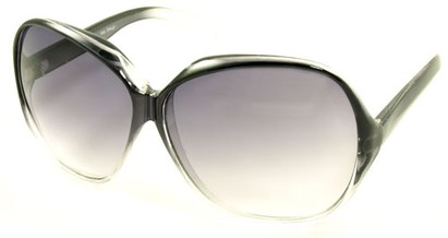 Angle of SW Oversized Style #5075 in Gray Fade Frame, Women's and Men's