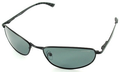 Angle of SW Polarized Style #5132 in Black Frame, Women's and Men's