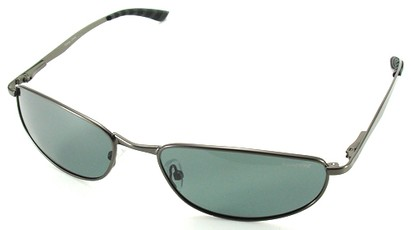 Angle of SW Polarized Style #5132 in Gray Frame, Women's and Men's
