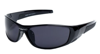 Angle of SW Sport Style #18111 in Black Frame, Women's and Men's
