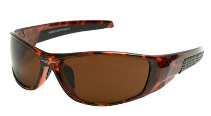 Angle of SW Sport Style #18111 in Brown Frame, Women's and Men's