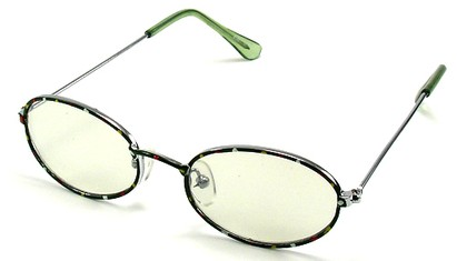 Angle of SW Kid's Style #928 in Green Sunglasses, Women's and Men's