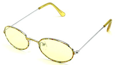 Angle of SW Kid's Style #928 in Yellow Sunglasses, Women's and Men's