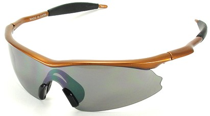 Angle of SW Kid's Style #9101 in Orange Frame, Women's and Men's